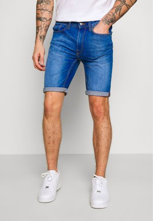 HYPER - Denim shorts - blue
