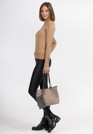 Tote bag - rose/light grey