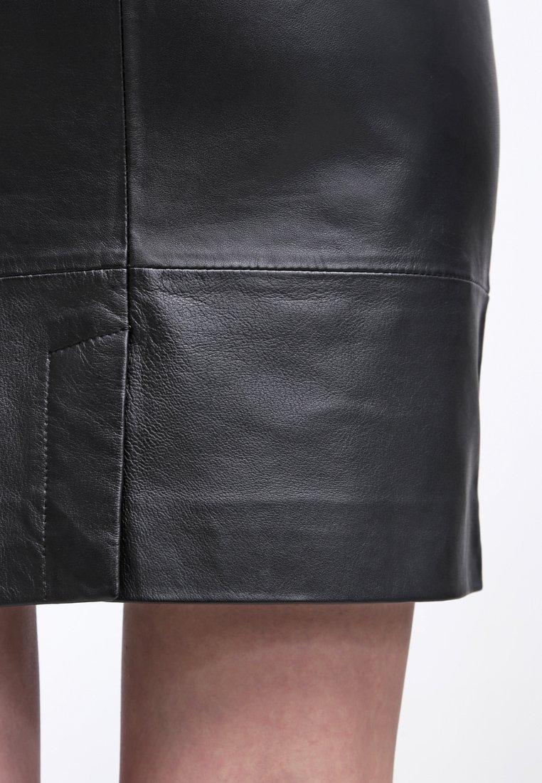 Gestuz CHAR - Skinnskjørt - black