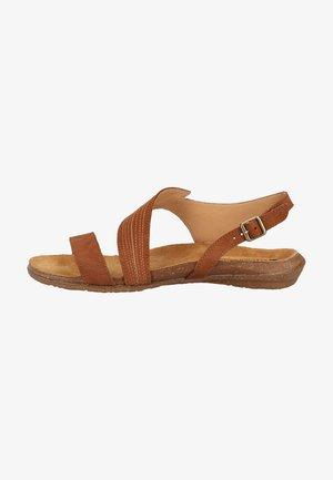 Sandały - wood