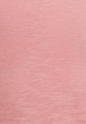 TURNED NECK - Maglietta a manica lunga - blush rose
