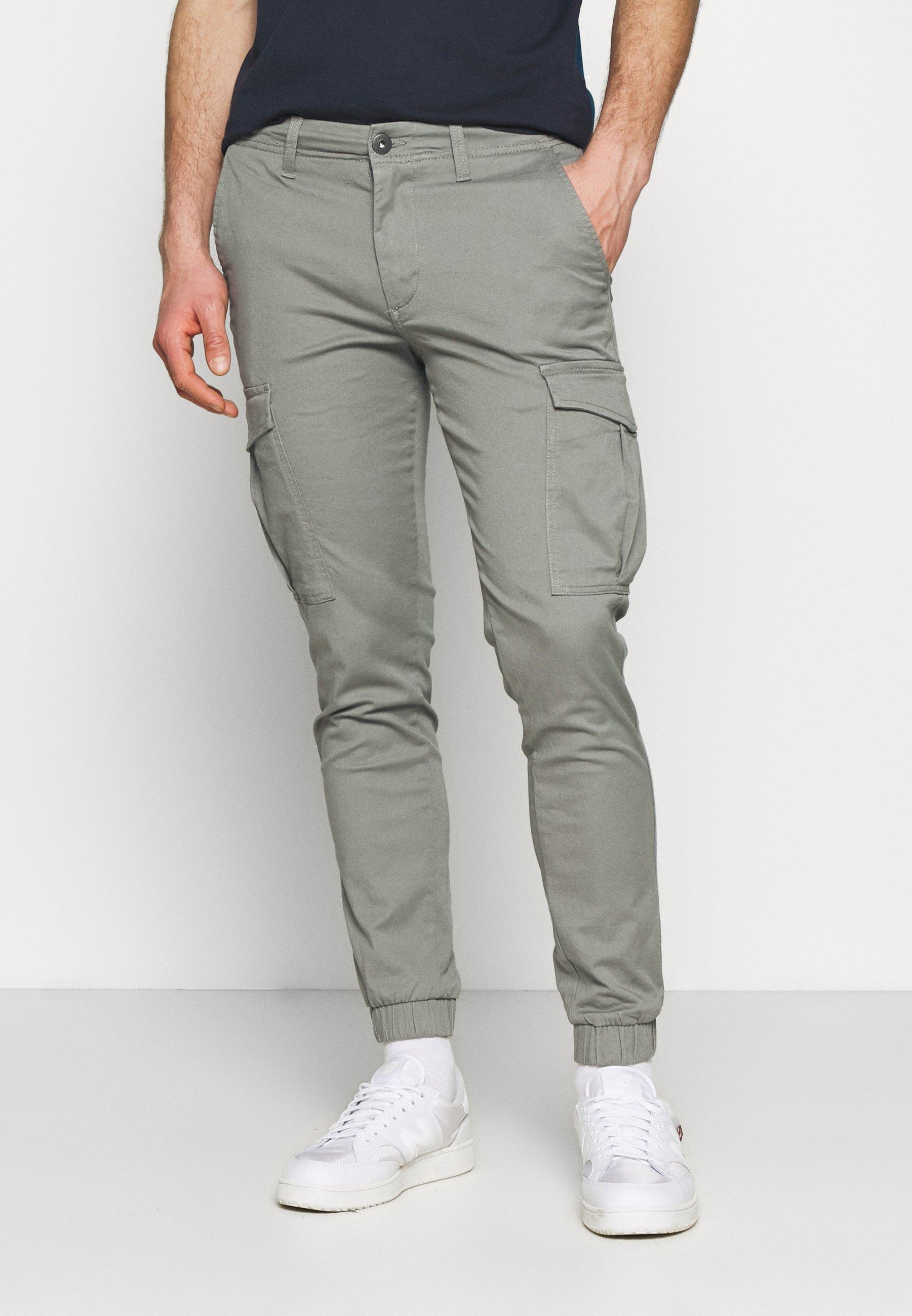 Men JJIMARCO CUFFED - Cargo trousers