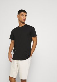 Calvin Klein Jeans - MICRO LOGO TEE UNISEX - T-shirt con stampa - black - 3