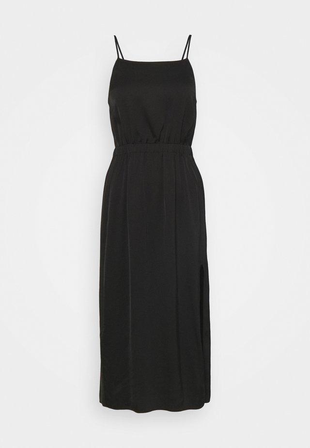 EMME FRONT DRESS - Korte jurk - black