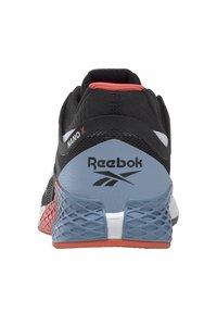 Reebok - NANO X - Chaussures d'entraînement et de fitness - black/white/vivid orange - 4