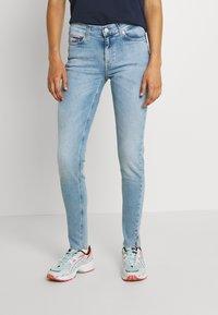 Tommy Jeans - NORA - Skinny džíny - denim light - 0