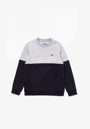 Sweatshirt - silver chine/abysm-white