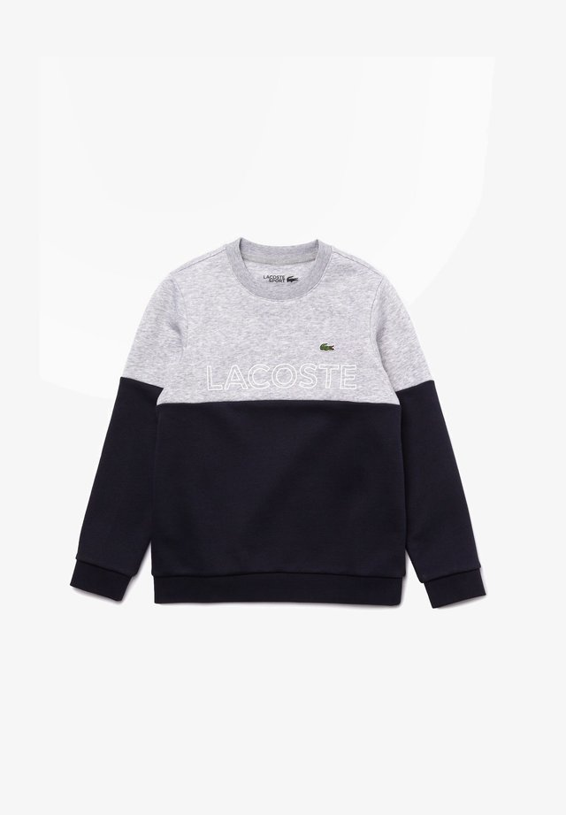 Sweatshirt - silver chine/abysm-white