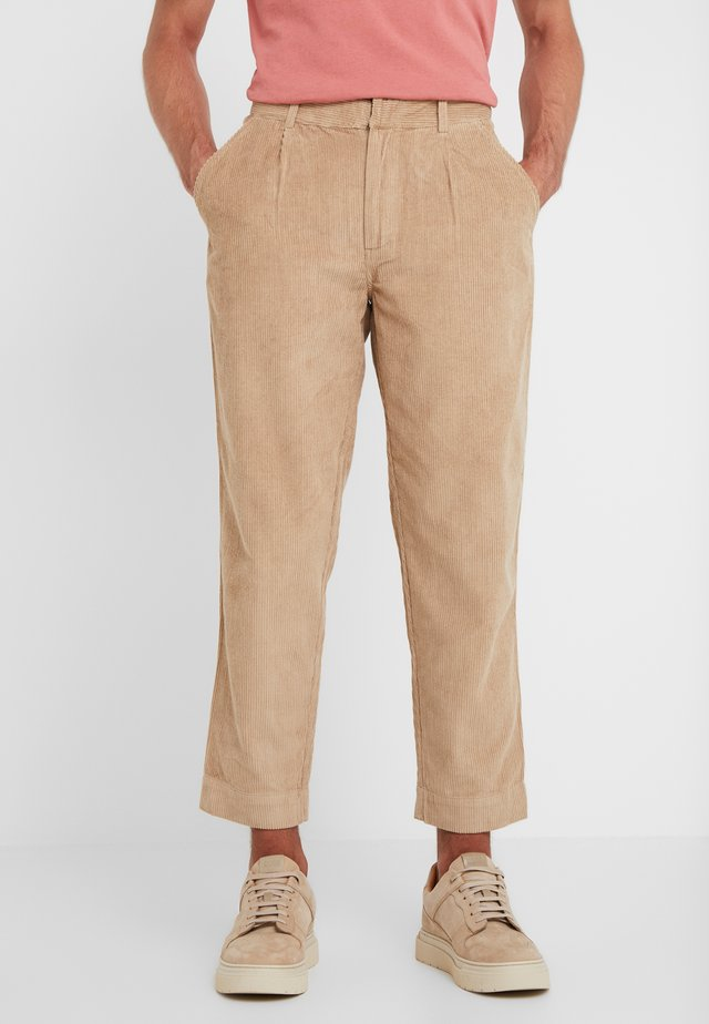 SIGNAL PANTS - Trousers - stone