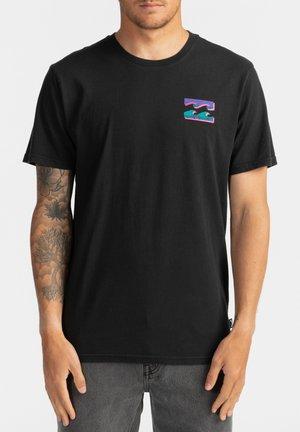 WARCHILD  - Print T-shirt - black
