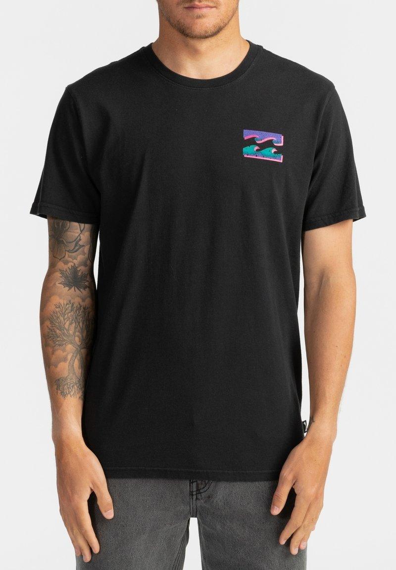 Billabong - WARCHILD  - Print T-shirt - black