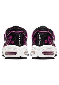 Nike Sportswear - AIR MAX TAILWIND - Sneakersy niskie - black/fire pink/dynamic yellow/white - 3