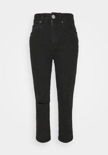 Jeans straight leg - midnight black