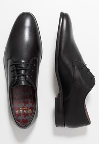 Walk London - ALFIE DERBY - Business sko - black - 1