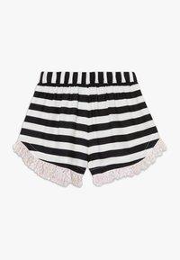 WAUW CAPOW by Bangbang Copenhagen - AUGUSTA STRIPED - Shorts - black/white - 0