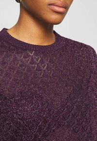 Soeur - DELON - T-shirt z nadrukiem - violet - 5