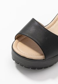Koi Footwear - VEGAN - Sandales à plateforme - black - 2