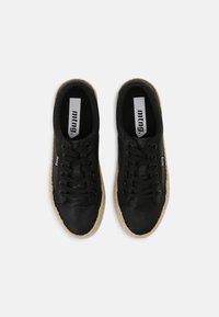 mtng - CARIBE - Sneakersy niskie - black - 4
