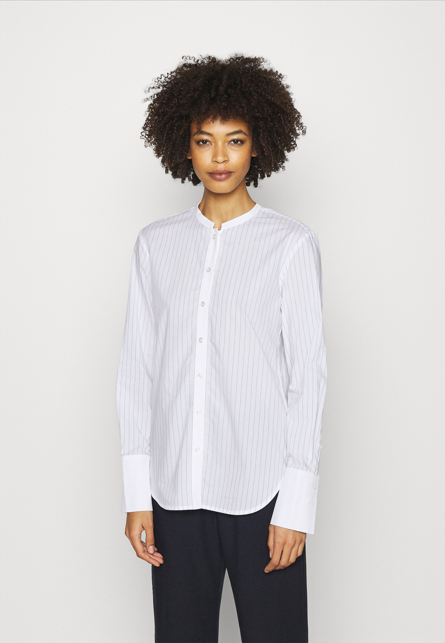 Women STIPED BLOUSE STANDING  - Button-down blouse