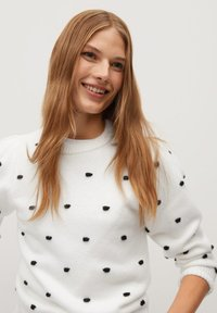 Mango - DOTTY - Jumper - écru - 3