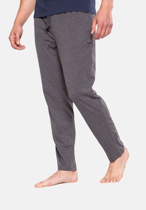 2PK RENE - Pyjama bottoms - navy & charcoal marl