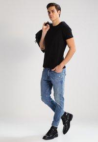 Lee - 2 PACK - T-shirt - bas - black - 1