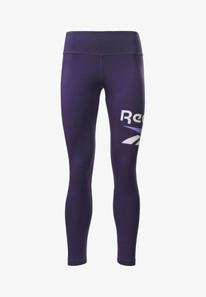 COTTON ELEMENTS WORKOUT LEGGINGS - Medias - purple