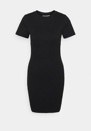 NMMANON DRESS - Denní šaty - black