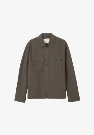 RICHARD  - Light jacket - greige melange