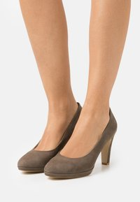 Anna Field - LEATHER COMFORT - High heels - taupe - 0