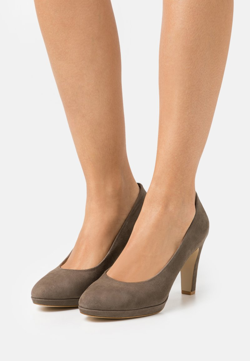 Anna Field - LEATHER COMFORT - High heels - taupe