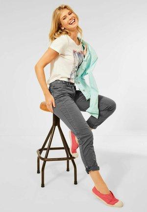 CASUAL FIT - Trousers - grau