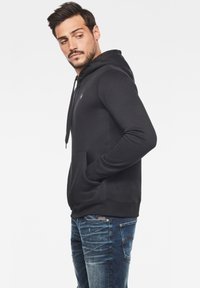 G-Star - PREMIUM CORE - Sweat à capuche - black - 2