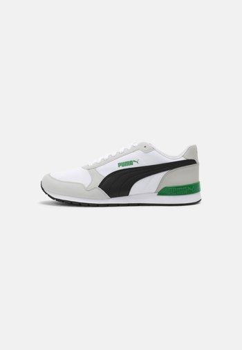 ST RUNNER V2 NL UNISEX - Sneakers basse - white/black/gray violet