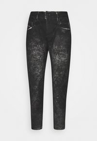 Diesel - D-FAYZA-SP2 - Relaxed fit jeans - washed black - 4