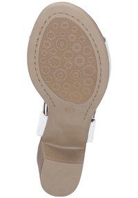 Piazza - Sandals - weiß - 5