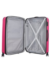 Travelite - CITY 4-ROLLEN KOFFERSET 3TLG. - Luggage set - beere - 4