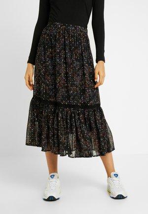 OBJMILO SKIRT - A-snit nederdel/ A-formede nederdele - black/multi coloured