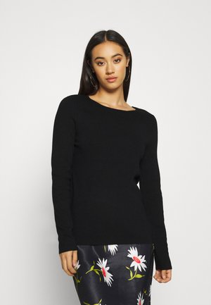 VMGLORY FULLNEEDLE BLOUSE COLOR - Sweter - black