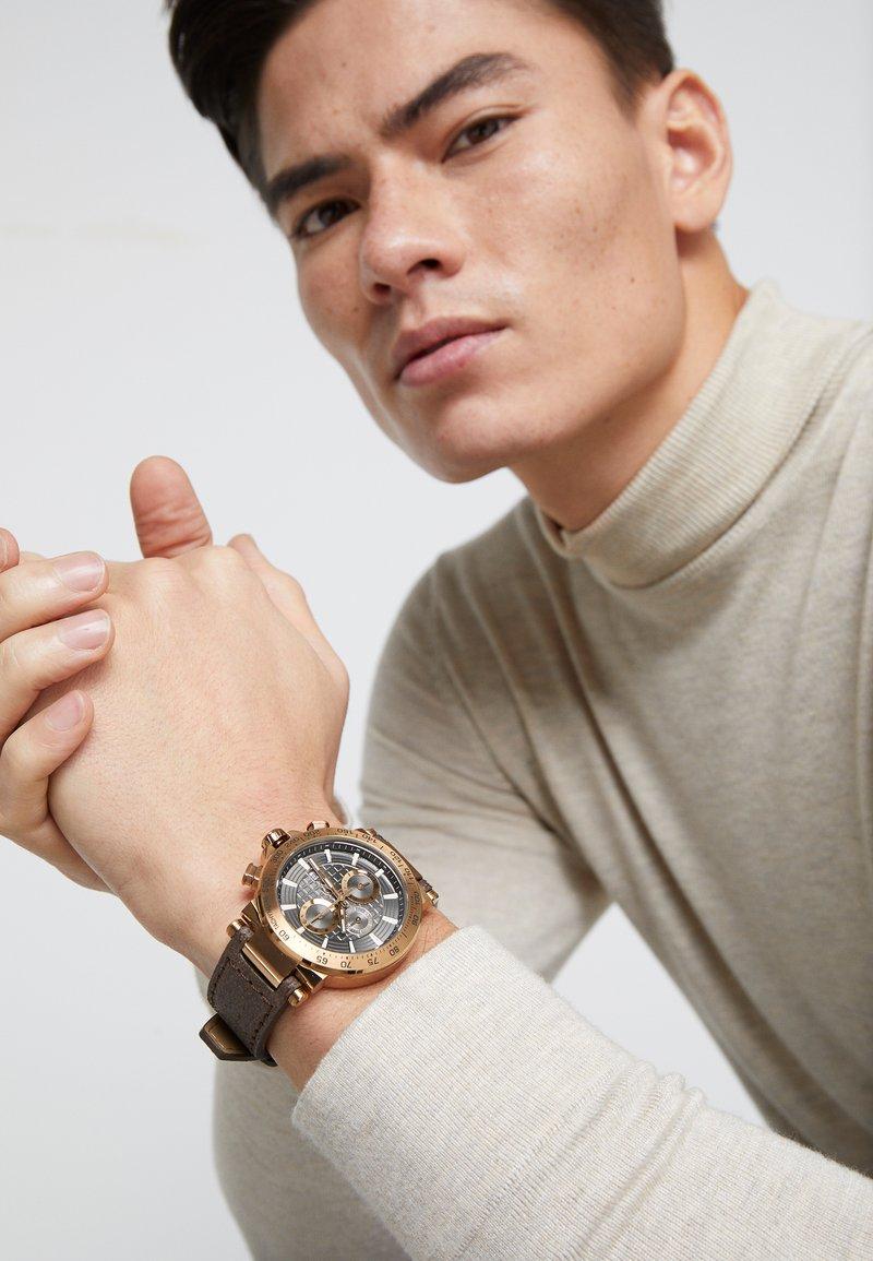 Gc Watches - Hodinky se stopkami - gold-coloured/brown
