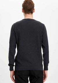 DeFacto - Stickad tröja - grey - 2