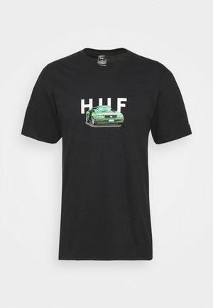 BONUS STAGE TEE - Print T-shirt - black