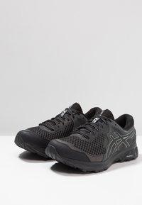 ASICS - GEL-SONOMA 4 G-TX - Trail running shoes - black/stone grey - 2