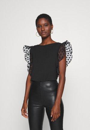 ENZA - T-shirt imprimé - jet black