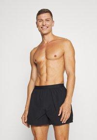 Pier One - 3 PACK - Boxer shorts - black - 1