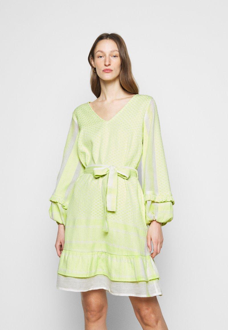 CECILIE copenhagen - LIV - Day dress - avocado green