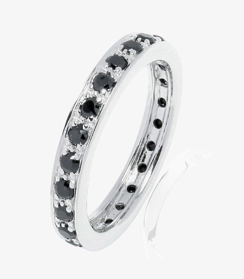 Sola Copenhagen - Ring - silber (schwarz)