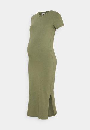 MLSANNI MIDI DRESS - Jersey dress - dusty olive