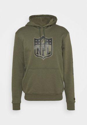 NFL DIGI CAMO HOODY - Sweatshirt - olive