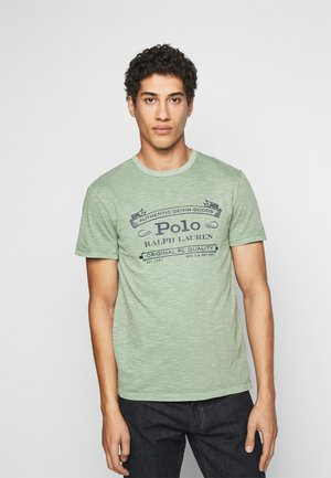 T-shirt print - pistachio